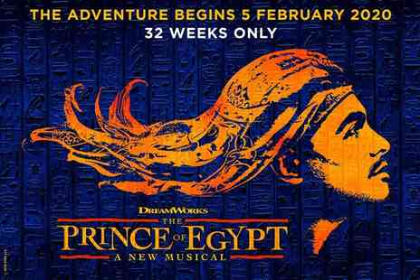 Encore Tickets - The Prince of Egypt at the Dominion Theatre - Save 0%