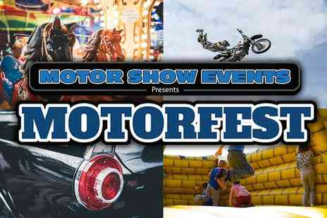 Motorshow Events - Motorfest in Chelmsford Circus Skills, Kids Disco, Movies, Rides, Inflatables all Included - Save 47%