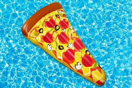 Eurotrade - Jumbo inflatable pizza float - Save 57%