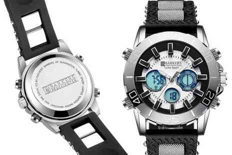 Timepieces - Barkers of Kensington turbo sport watch - Save 86%