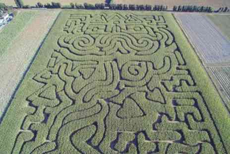 Stanhill Farm - Maize Maze Entry for Three or Five - Save 17%