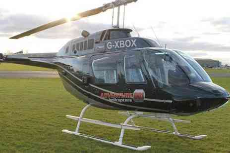 Adventure 001 - Blue skies helicopter tour for one person - Save 54%