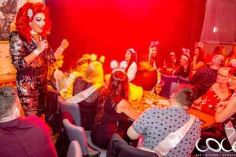 Coco Bar Kitchen And Entertainment - Standing Show Ticket and Drink for One, Two or Four - Save 49%