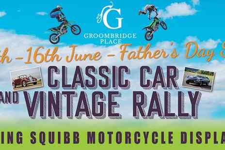Groombridge Place - Fathers Day Motorbike Display and Classic Car Show Weekend - Save 20%