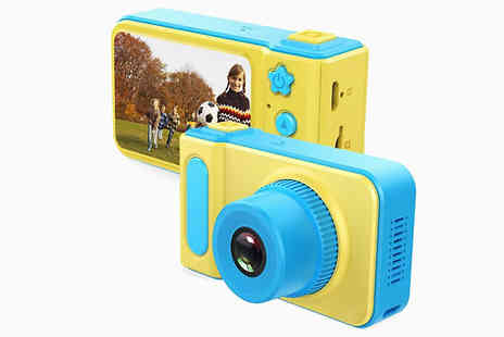 Fantasy Supply - Kids 1080p Hd Camera And Video Recorder Plus Optional 16Gb Memory Card - Save 90%