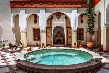 Safran et Cannelle Riad & Spa - Unique and Relaxing Traditional Riad for two - Save 62%