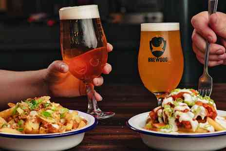 BrewDog - Beers and snacks for Two - Save 45%