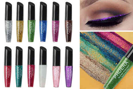 Forever Cosmetics - One glitter glam liquid eyeliner Two eyeliners - Save 40%