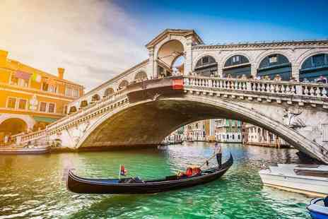 Cheap Cost Travel - Escape with a two, three or four-night Venice getaway Now with the ability to choose your flight - Save 0%