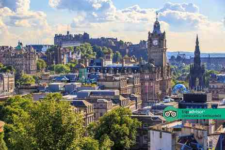 Weekender Breaks - Overnight Edinburgh stay with breakfast and flights - Save 39%