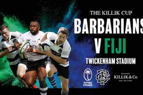 International Sports Investments - One child or adult ticket to The Killik Cup Barbarians V Fiji on 16 November - Save 0%