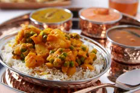 Mint Leaf - Two Course Indian Meal with Rice and Naan for Two or Four - Save 55%