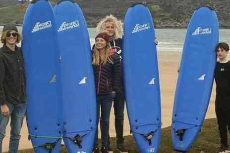 North Coast Watersports - 2 hour private surf lesson - Save 0%
