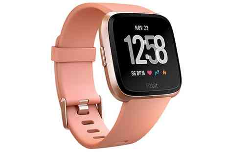 Groupon Goods Global GmbH - Fitbit Versa Health and Fitness Sports Watch With Free Delivery - Save 0%