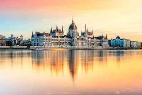 Hotel Belvedere Budapest - Four Star Central Art Deco Inspired Hotel with Wellness Floor for two - Save 65%