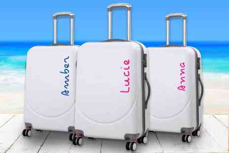 CNC Group - Small Personalised Island Inspired suit case sticker - Save 80%