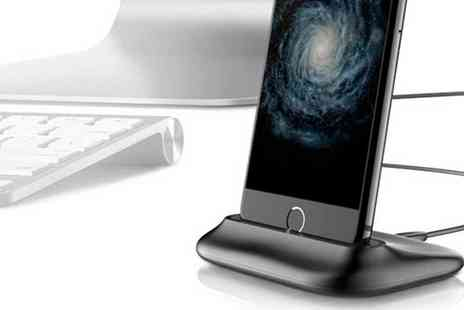 Groupon Goods Global GmbH - Apachie Aluminium Dock for iPhone in Choice of Colour - Save 0%