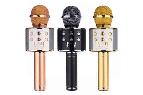 Bellap - Karaoke microphone with Bluetooth speaker - Save 84%