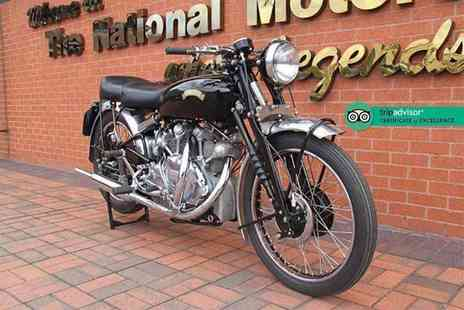 National Motorcycle Museum - Two adult tickets or family ticket - Save 55%