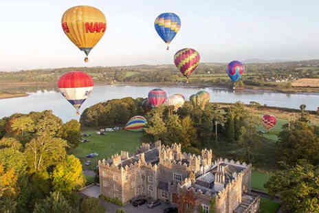 Waterford Castle - Two nights luxury self catering garden lodge stay for up to six - Save 49%