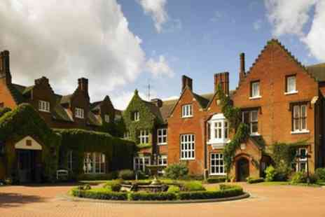Sprowston Manor Hotel & Country Club - One Night Stay for Two with Breakfast, Wine and Option for Dinner - Save 41%