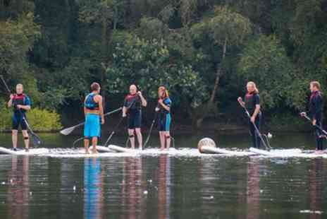 Devon Windsurf and Canoe Centre - Two Hour Paddleboard Lesson for Up to Six - Save 58%