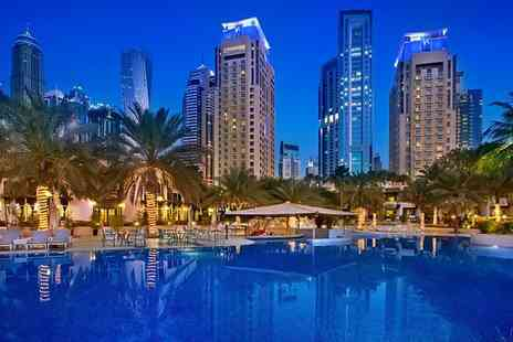Habtoor Grand Resort - Five Star Elegance on Dubais World Famous Jumeirah Beach for two - Save 34%