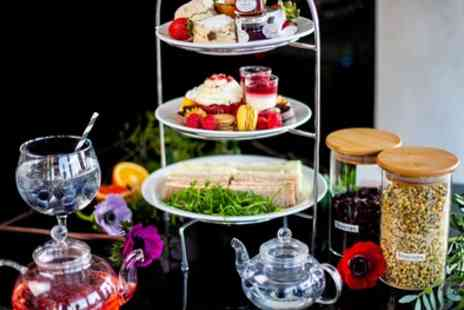 Crowne Plaza London Battersea - Afternoon Tea with Optional Gin and Tonic Cocktail for Two or Four  - Save 36%