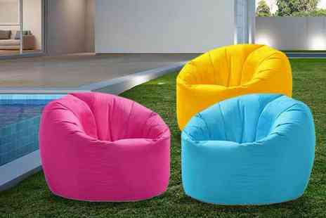UK Beanbags - Kids beanbag or adult beanbag choose from three colours - Save 48%