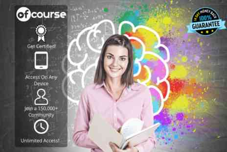 OfCourse - Online adult adhd course unlimited access - Save 83%