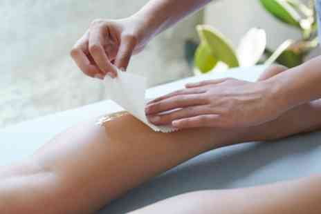 Dubai Beauty Salon - Full Leg Wax or Bikini Line with Half or Full Leg Wax - Save 40%