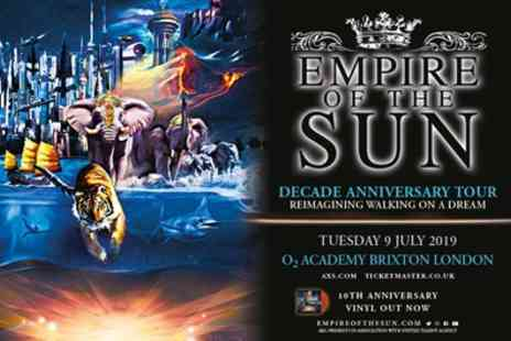 Empire of the Sun - One standing ticket on 9th July - Save 51%