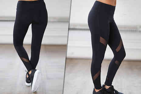 J Star Direct - High Waist Sports Leggings Available in 4 Sizes - Save 62%
