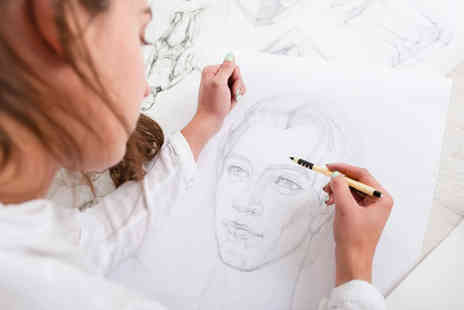 Frui - Full day portrait drawing class for one - Save 66%