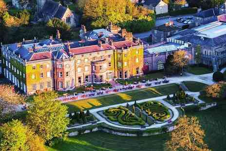 Nidd Hall Hotel - Afternoon tea for two people - Save 32%
