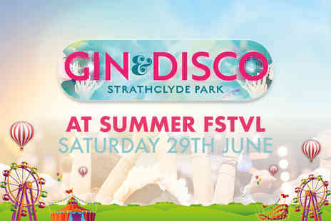 M&Ds Theme Park - Entry to Gin and Disco FSTVL on 29th June - Save 56%