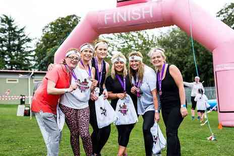 St Marys Hospice - One ticket to The Chocolate 5K Obstacle Rush on 28th September - Save 27%