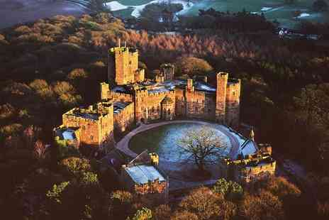 Peckforton Castle - Classic afternoon tea for two or glass of champagne or Gin and Tonic each - Save 26%