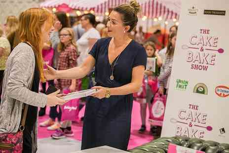 The Cake and Bake Show - Two tickets on 4th, 5th or 6th October 2019 - Save 43%