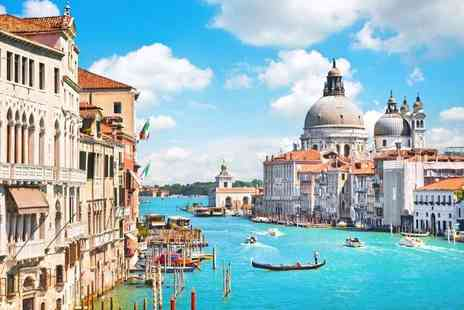 Weekender Breaks - Four nights Rome and Venice holiday with a train transfer and return flights - Save 30%