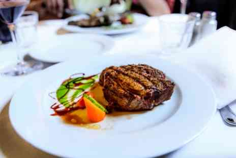 Bourgee Restaurant Norwich - 6 Ounce Sirloin Steak Meal with Side and Glass of Wine for Two or Four - Save 46%