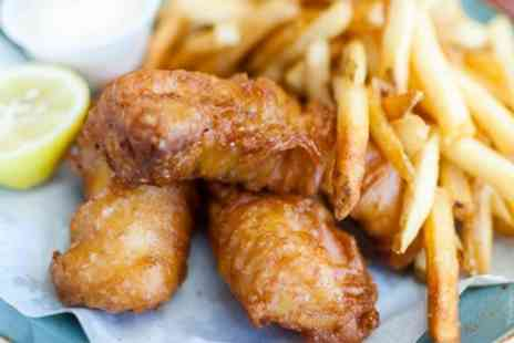 The Grub Garden - Fish and Chips with Drinks for Two or Four - Save 38%