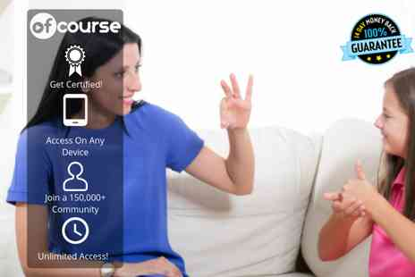 OfCourse - Online British sign language course - Save 76%