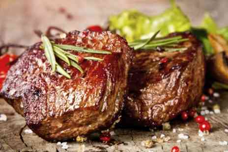 The Rosehip - Main Meal of Choice for Two or Four Including 8oz Sirloin or Ribeye Steak for Two - Save 47%