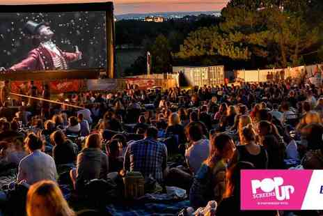 Pop Up Screens - See Your Favourite Films in your Favourite Parks - Save 50%