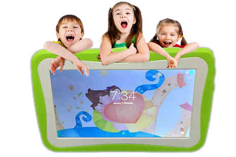 J Star Direct - Seven Inch Kids SmartPad Android Tablet with Ergonomic Case Choose Four Colours - Save 50%