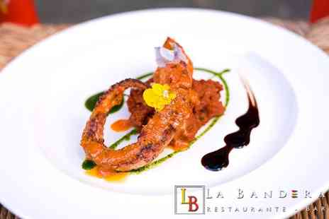 La Bandera Restaurante - Seven course tapas tasting menu to share between two people - Save 34%