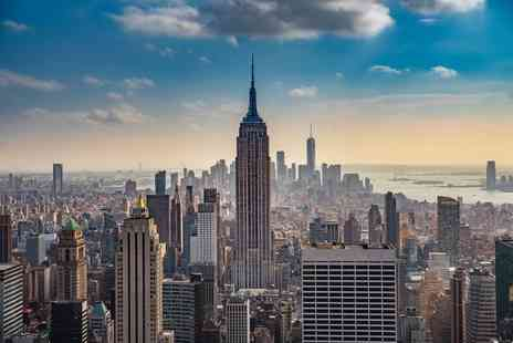 Bargain Late Holidays - Escape with a three, four, five or seven nights getaway to New York Now with the ability to choose your flight - Save 0%
