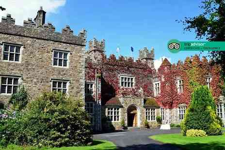 Waterford Castle Hotel & Golf Resort - One night stay for two with three course dining - Save 53%