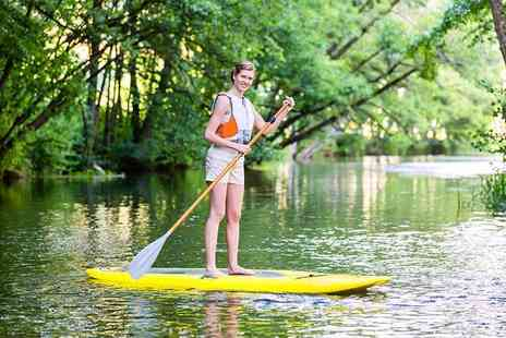 Pier 52 - 75 minute stand up paddle boarding session for one - Save 30%